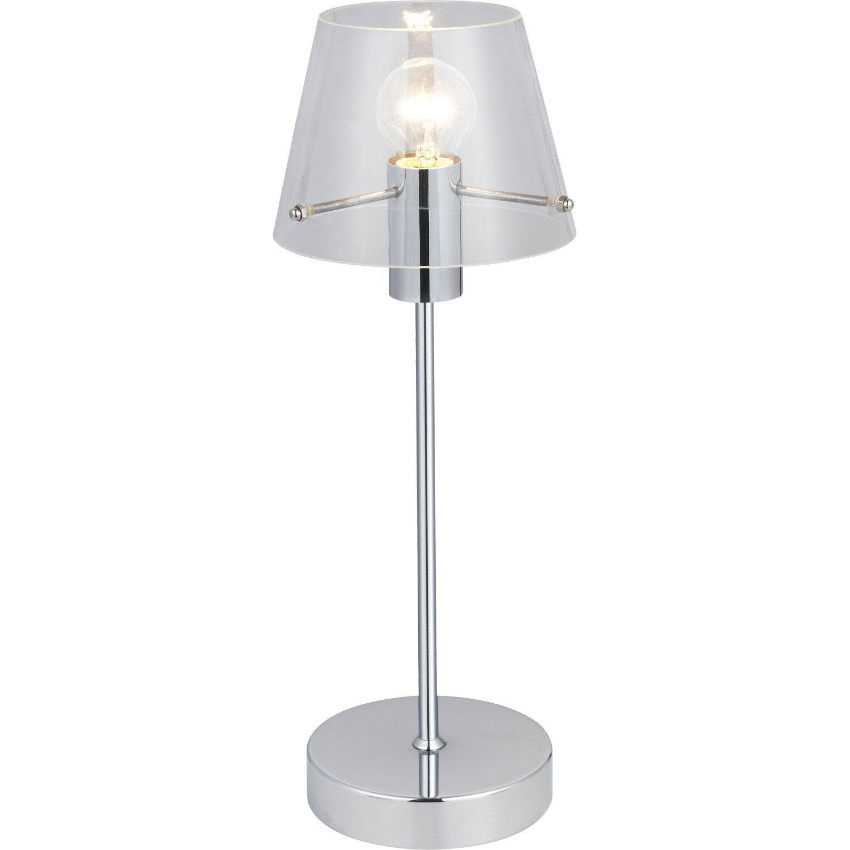 Lampe E14 Alhambra Brilliant Verre Transparent 40 W Leroy Merlin