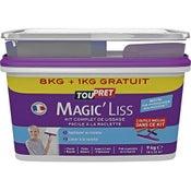 Enduit de lissage pâte Magic liss TOUPRET, 8 kg