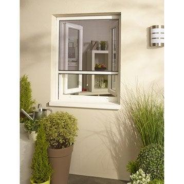 Moustiquaire pour fenêtre à enroulement vertical H.100 x l.80 cm
