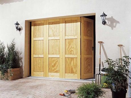 poser une porte de garage pliante leroy merlin. Black Bedroom Furniture Sets. Home Design Ideas