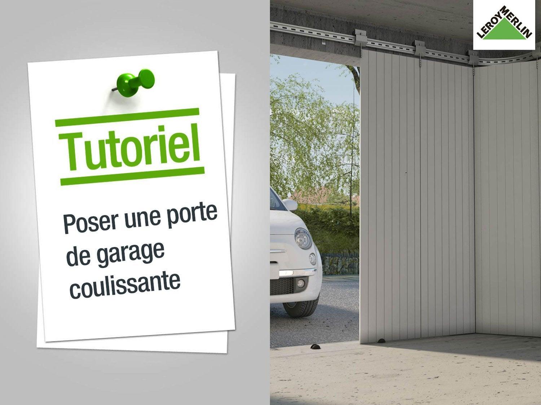 Comment poser une porte de garage coulissante ?