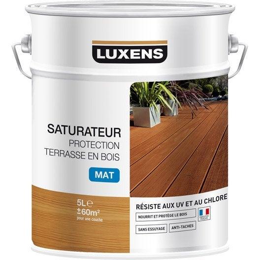 Saturateur Terrasse Bois Leroy Merlin - Protection des terrasses (saturateur) et mobilier de jardin (huile) au meilleur prix Leroy Merlin