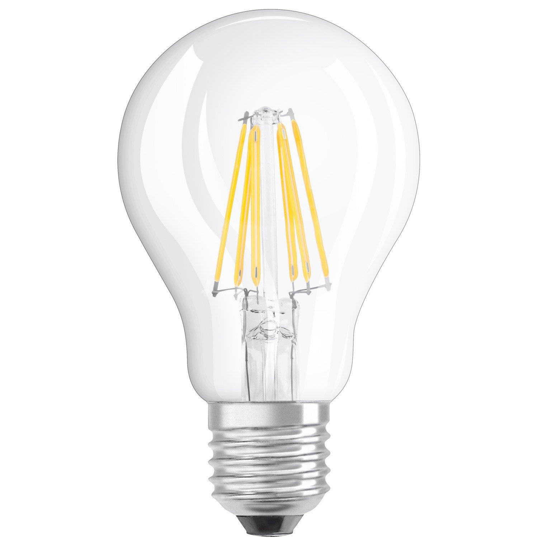 Filament Led Bulb E27 85w Dimmable 1055lm 75w Equiv 2700k Osram