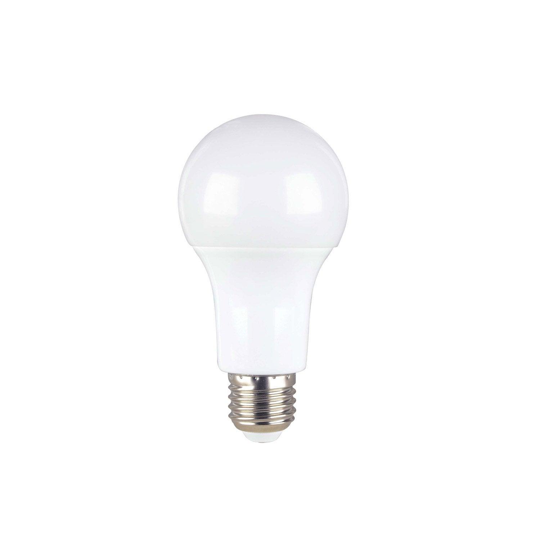 ampoule led standard e27 11w 1055lm quiv 75w 3000k 300 lexman leroy merlin. Black Bedroom Furniture Sets. Home Design Ideas
