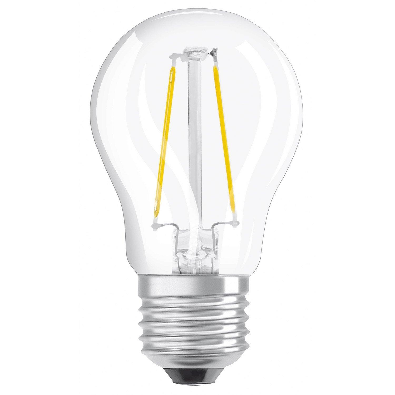 Round Filament Led Bulb E27 4w 470lm Equiv 40w 2700k Osram