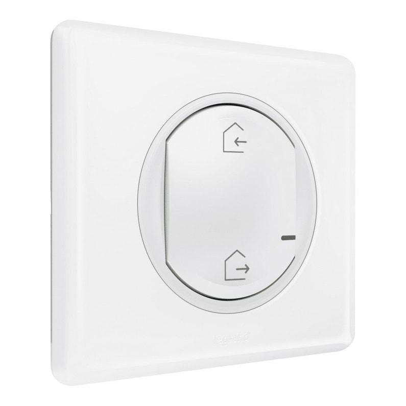 Interrupteur Général Sans Fil Connecté Blanc Céliane With Netatmo Legrand