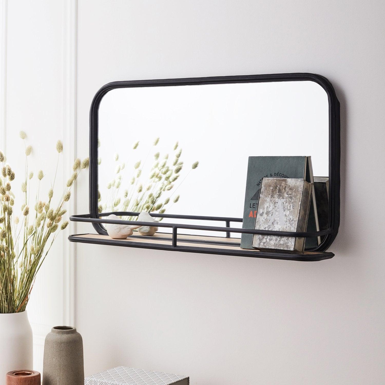 Miroir Maison Du Monde Industriel des miroirs qui reflètent votre style | leroy merlin