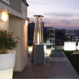 Salon de jardin table et chaise mobilier de jardin leroy merlin - Chauffage terrasse leroy merlin ...