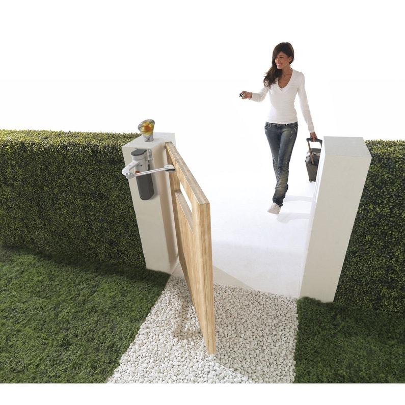 motorisation de portail bras mhouse by nice wt2s leroy merlin. Black Bedroom Furniture Sets. Home Design Ideas