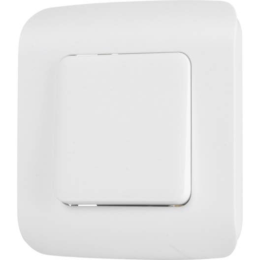 interrupteur va et vient cosy blanc blanc n 0 lexman leroy merlin. Black Bedroom Furniture Sets. Home Design Ideas