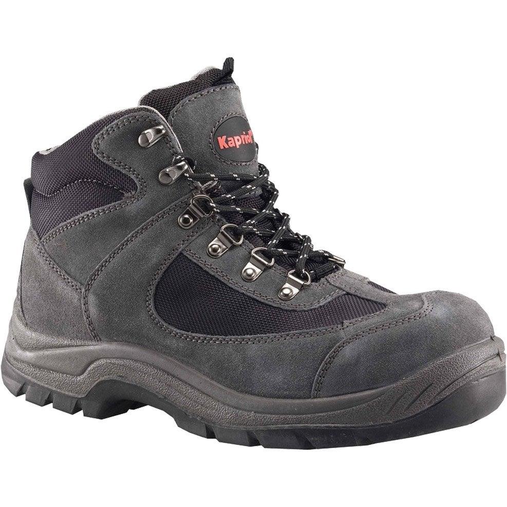 chaussures de s curit hautes kapriol nebraska coloris gris t40 leroy merlin. Black Bedroom Furniture Sets. Home Design Ideas