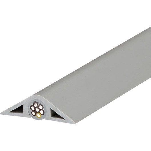 Passage de plancher gris 41mmx2m leroy merlin for Plancher mezzanine leroy merlin