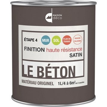 Peinture à effet, Le béton MAISON DECO, incolore, 1 l
