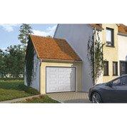 Porte de garage sectionelle EXCELLENCE, acier blanc à cassette, 200 x 240cm