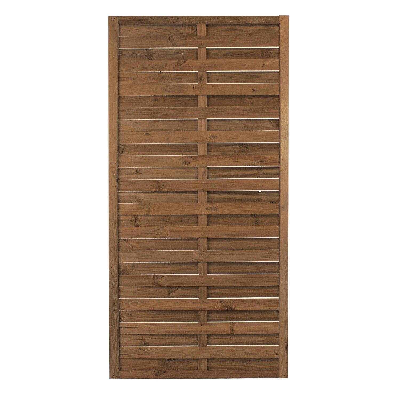 barriere bois jardin leroy merlin. Black Bedroom Furniture Sets. Home Design Ideas
