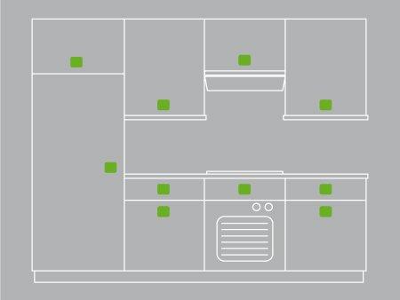 comment poser des poign es ou boutons de meuble leroy. Black Bedroom Furniture Sets. Home Design Ideas