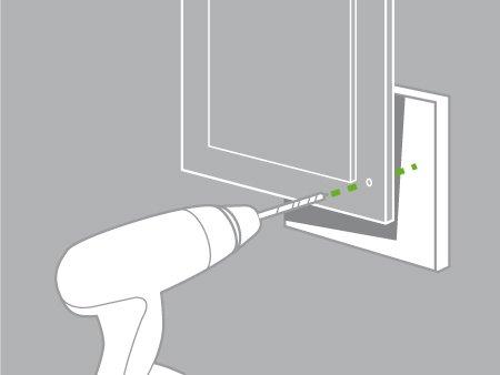 Comment poser des poign es ou boutons de meuble leroy - Comment couper du melamine sans eclat ...