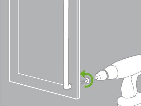 Comment poser des poign es ou boutons de meuble leroy for Bloque fenetre sans percage