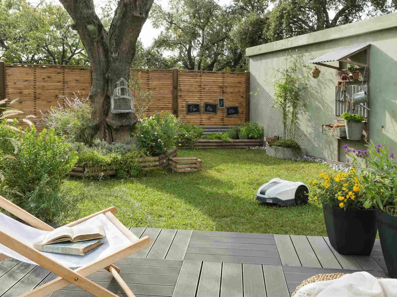 un jardin zen la japonaise leroy merlin. Black Bedroom Furniture Sets. Home Design Ideas