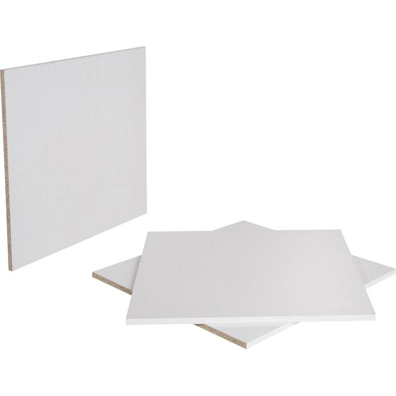 Tablette Agglomérée Blanc L200 X L60 Cm X Ep16 Mm