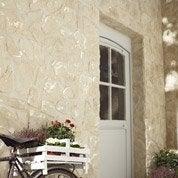 Plaquette de parement béton beige Piemont