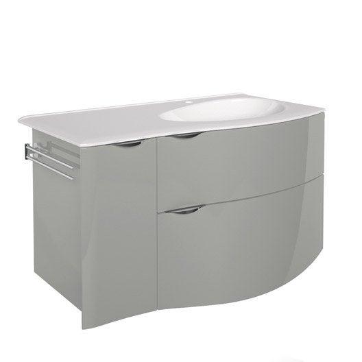 meuble sous vasque x x cm elegance leroy merlin. Black Bedroom Furniture Sets. Home Design Ideas