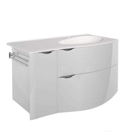 meuble vasque 100 cm elegance leroy merlin. Black Bedroom Furniture Sets. Home Design Ideas