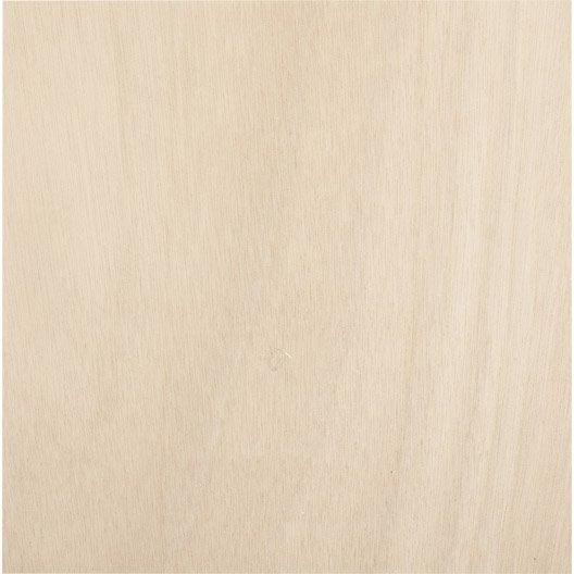 Panneau contreplaqué okoumé extérieur, Ep.22 mm x L.250 x l.122 cm
