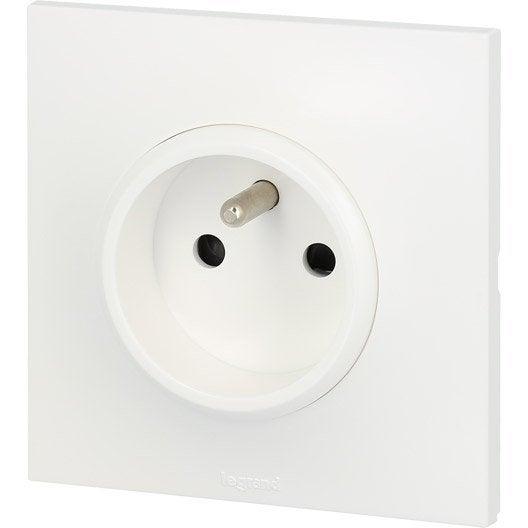 interrupteur et prise pr t poser interrupteur l ctrique au meilleur prix leroy merlin. Black Bedroom Furniture Sets. Home Design Ideas