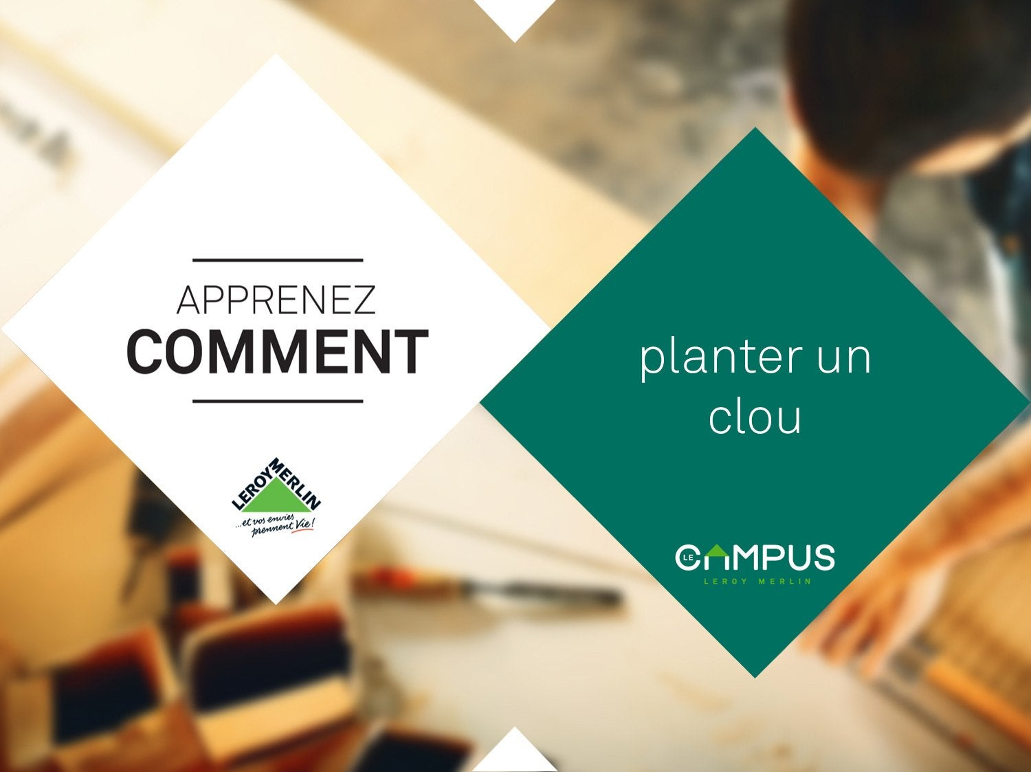 Comment planter un clou ?