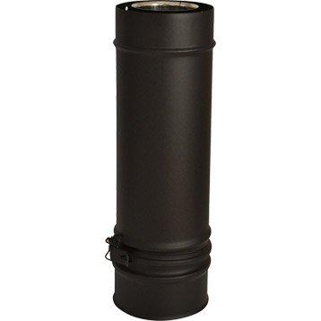 Tuyau réglable pour conduit double paroi ISOTIP JONCOUXDiam.100 mm Réglable