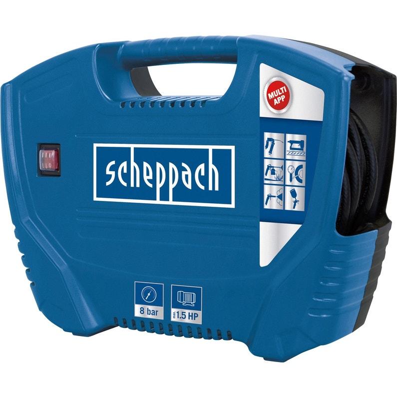 Compresseur de loisirs SCHEPPACH 0 l 1.5 cv   Leroy Merlin 393c7a90ec5f