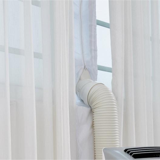 kit calfeutrage toile pour cimatiseur mobile leroy merlin. Black Bedroom Furniture Sets. Home Design Ideas