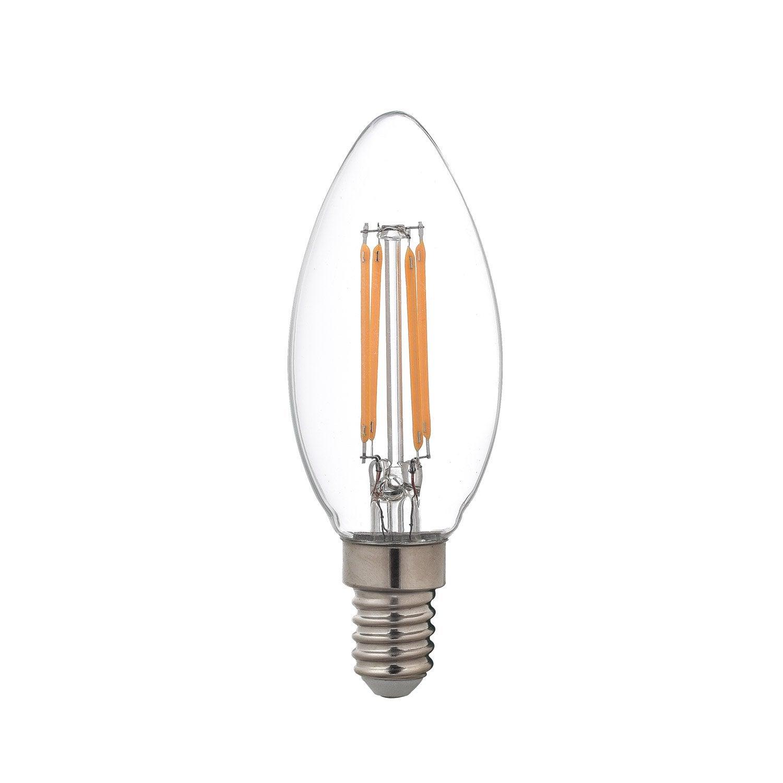 Led Bulb Filament E27 4w 470lm Equiv 40w 2700k Lexman