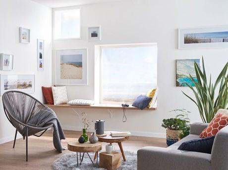 9 id es inspirantes pour une pi ce lumineuse m me en hiver leroy merlin. Black Bedroom Furniture Sets. Home Design Ideas