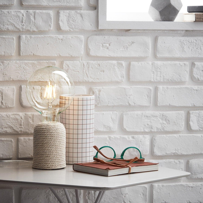 Lampe, moderne, résine corde, BRILLIANT Cardu