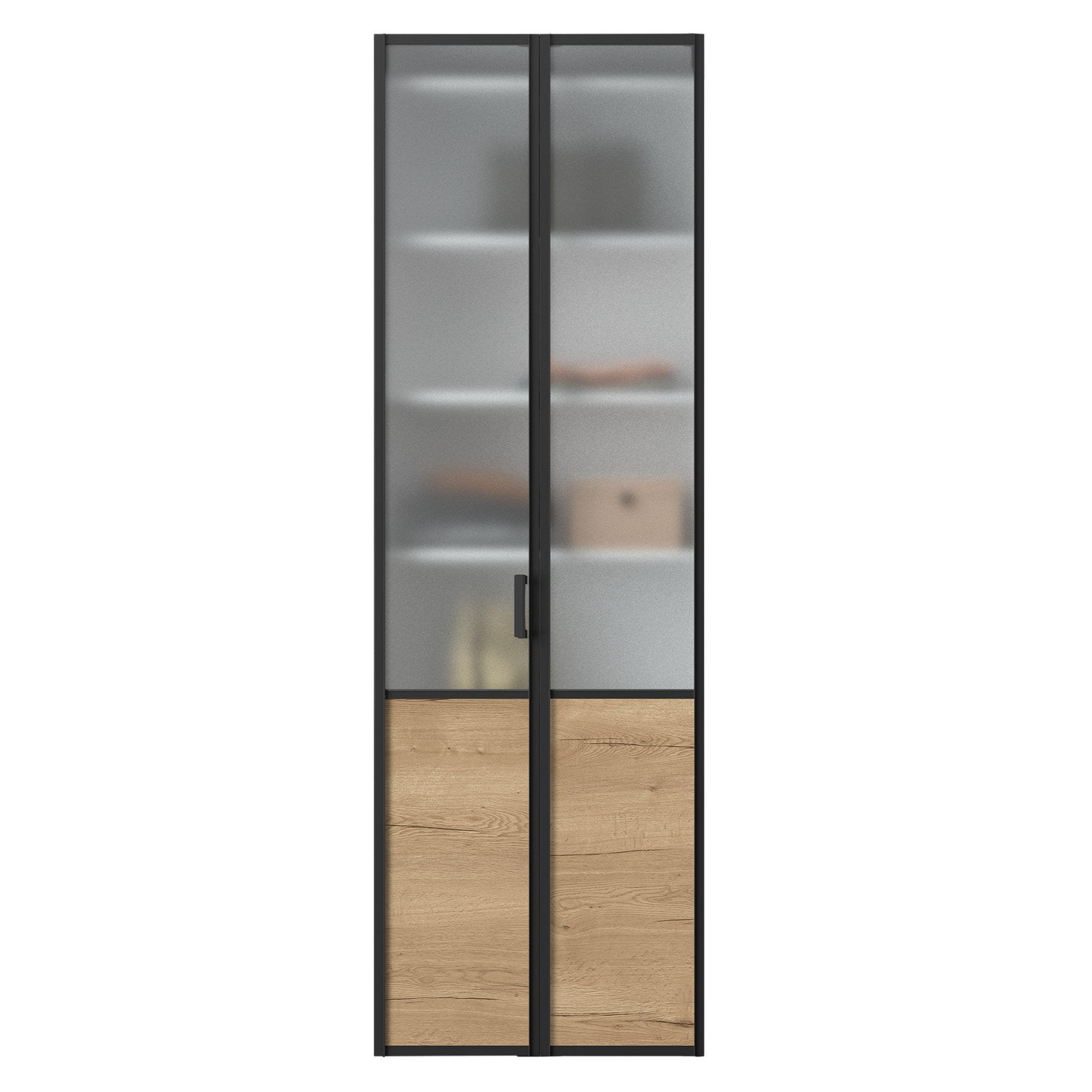Porte De Séparation Pliante porte de placard pliante sur-mesure iliko loft de 40 à 60 cm