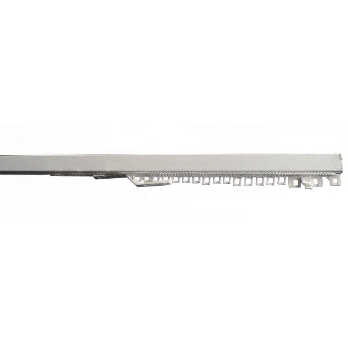 Rail acier Classic rail blanc laqué, L.160 cm, ouverture latérale (1 ...