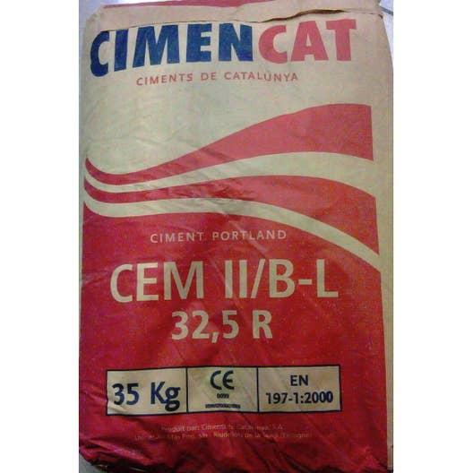 Ciment gris ce cimencat 35 kg leroy merlin - Dosage beton pelle sac 35 kg ...
