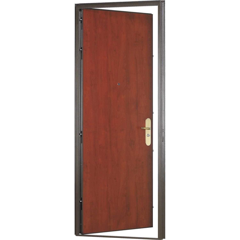 Porte Blindée Surmesure Diamant Leroy Merlin - Porte placard coulissante jumelé avec portes blindées fichet prix