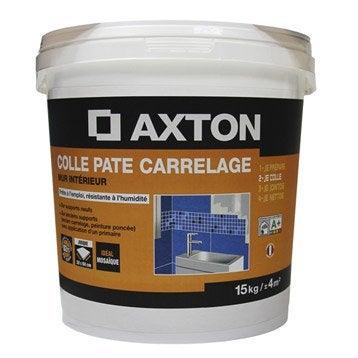 Colle en pâte Prêt à l'emploi pour carrelage mur, 15 kg, blanc