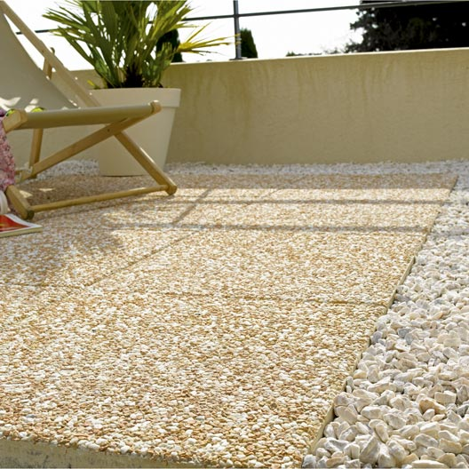 Dalle b ton n ve rose x cm x mm leroy merlin - Dalle de plancher osb leroy merlin ...