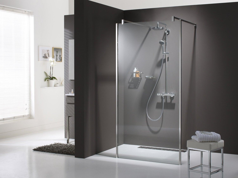 Porte pour douche a l italienne maison design for Porte douche italienne