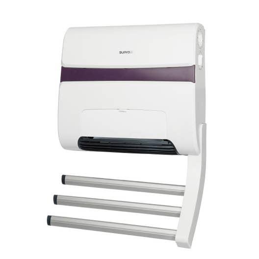 Avis Sur Meuble Salle De Bain Ikea ~ radiateur soufflant lectrique supra zitto 11 blanc taupe 1800 w