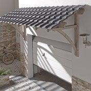Auvent en kit Firenze, structure en sapin, 325 x 132 x 113 cm