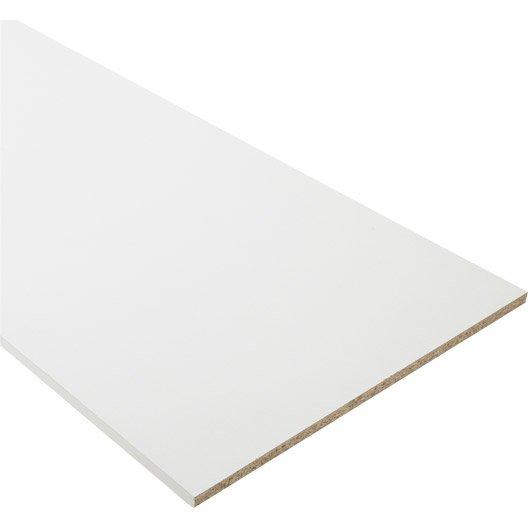tablette papier blanc x cm x mm leroy merlin. Black Bedroom Furniture Sets. Home Design Ideas