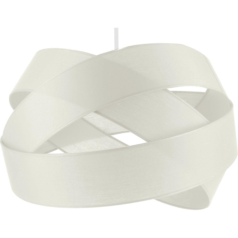 Exceptionnel Suspension, E27 Moderne Bijou GM Coton Blanc Blanc N°0 1 X 60 W METROPOLIGHT