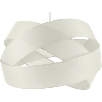 Suspension Contemporain Bijou GM coton blanc 1 x 60 W METROPOLIGHT