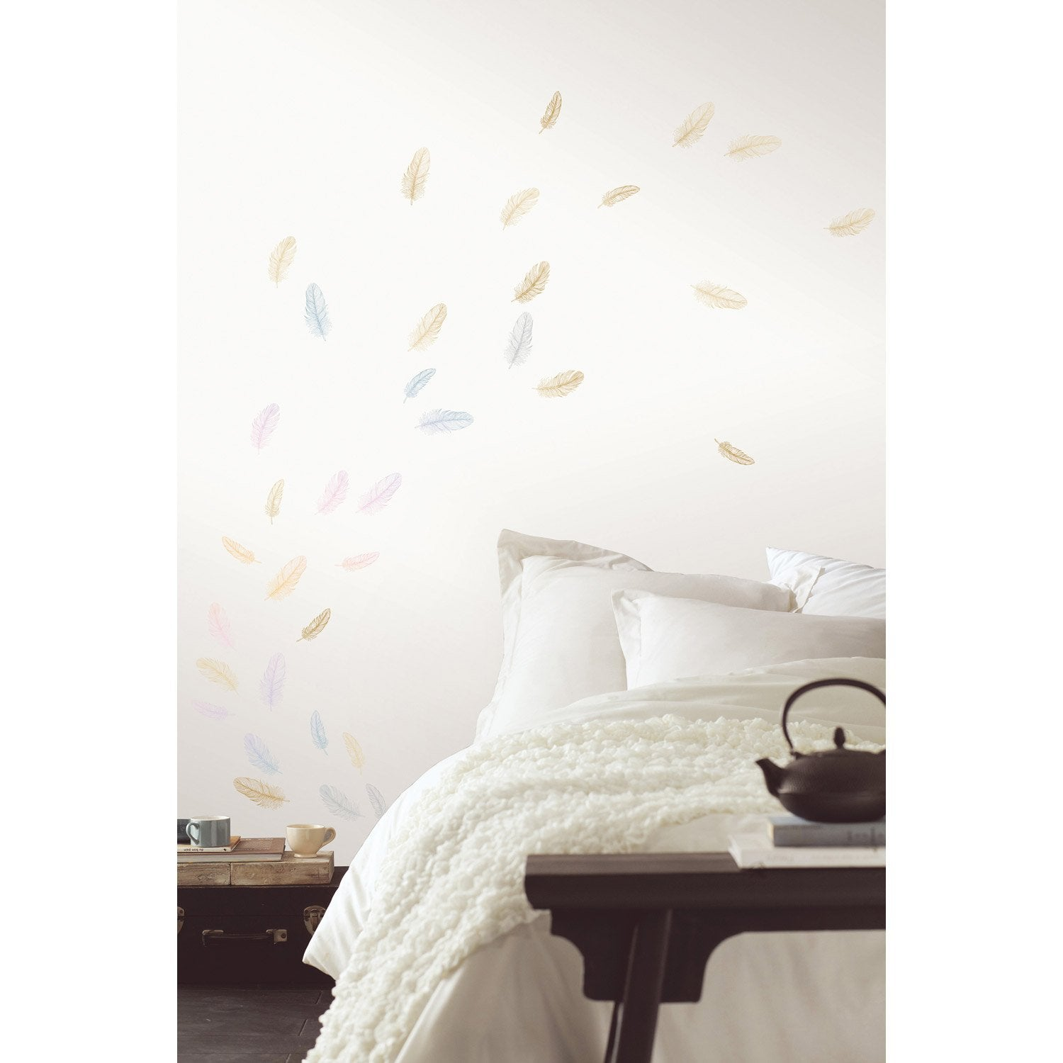 Sticker Feather 47 cm x 67 cm