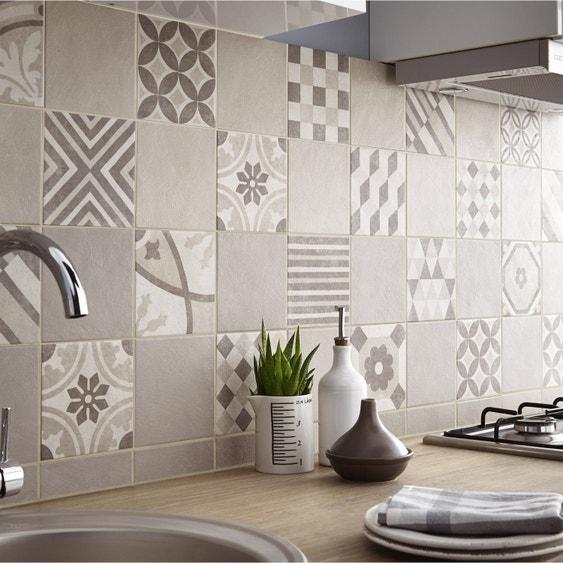 carrelage sol et mur beige d cor elliot x cm leroy merlin. Black Bedroom Furniture Sets. Home Design Ideas